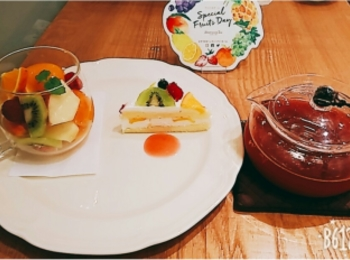 《6月8日限定》【Afternoon Tea Tearoom 】 夢のフルーツティーセット