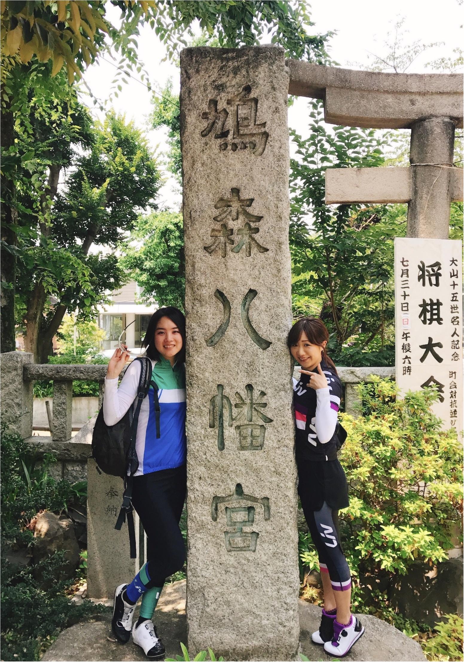 「ツール・ド・東北」に向けて…ロードバイク自主トレ!20〜30キロで行けた♡神社・お寺を全部見せ☻【#モアチャレ さえ】_1_3