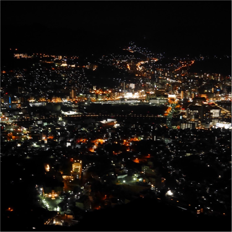 【長崎旅行①】≪世界三大夜景≫が見られる!展望台へ行ってきました♡_3