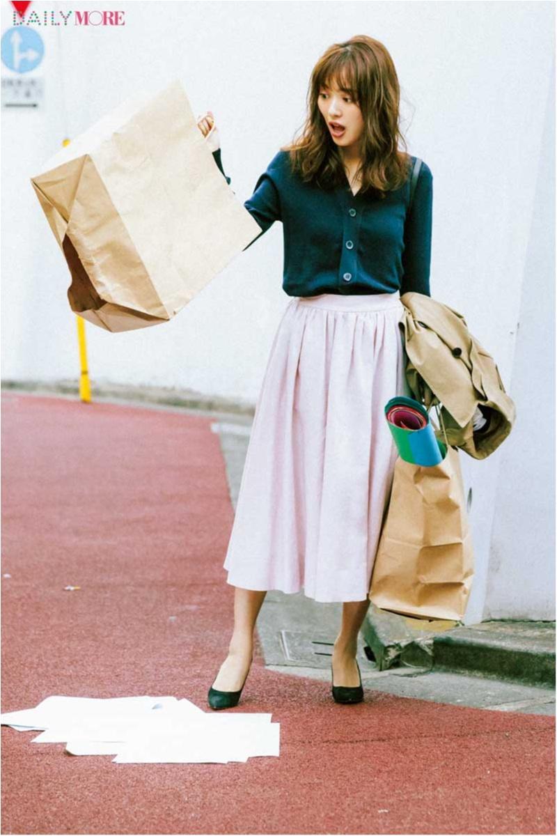 【今日のコーデ】ピンクのフレアスカートで好感度アップ♡ 仕事もデートもこの一着に頼りっきり!_1