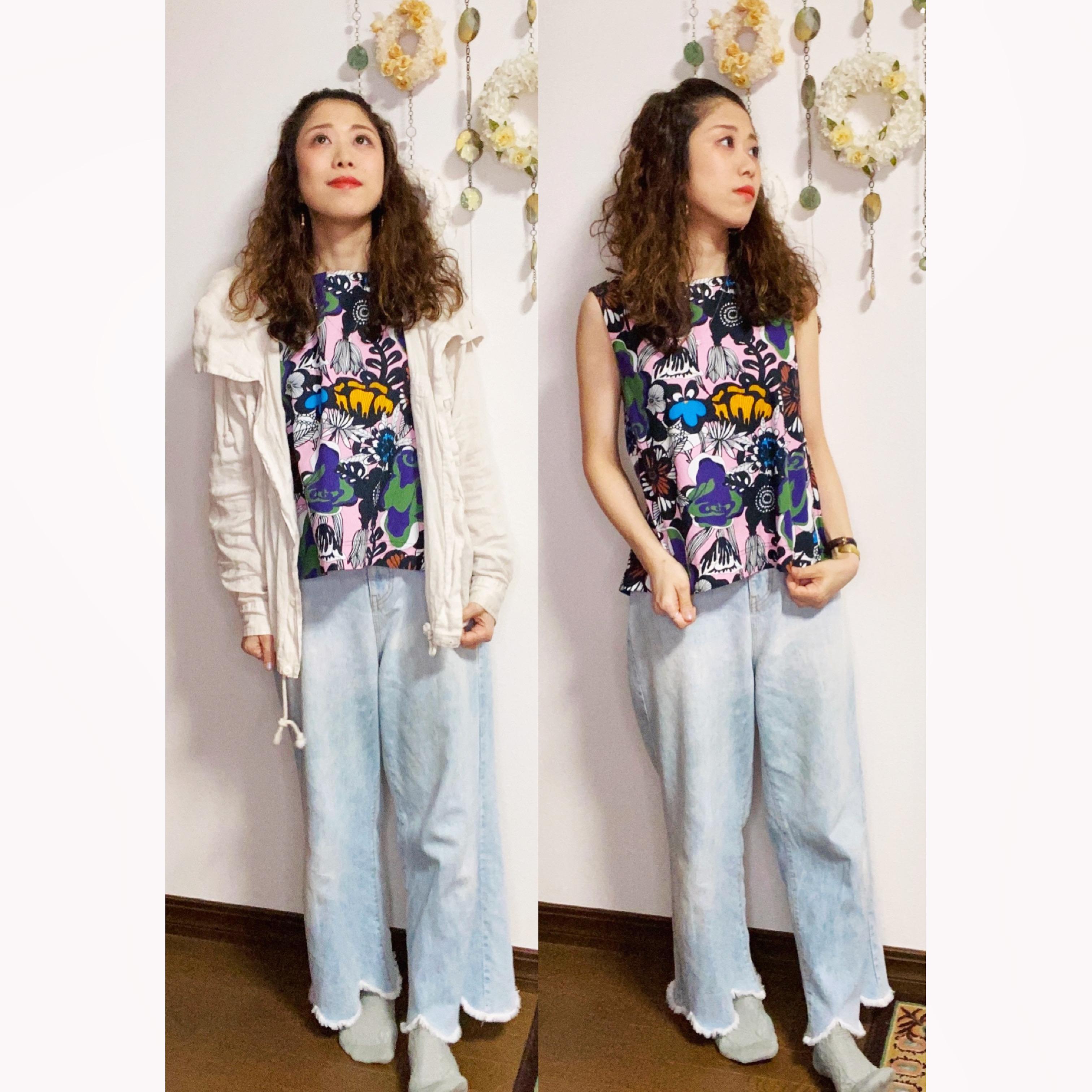 【オンナノコの休日ファッション】2020.8.4【うたうゆきこ】_1