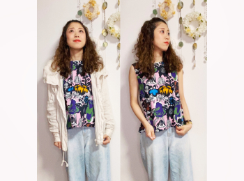 【オンナノコの休日ファッション】2020.8.4【うたうゆきこ】