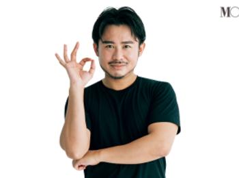 Youtubeが大人気の小田切ヒロさんも愛用! 眉尻や口角にも使える『NARS』のブラシ! 仕上げ技も披露