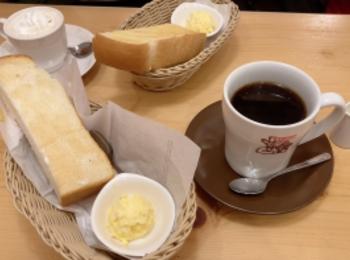 朝コメダはふわふわトーストが無料でついてくる