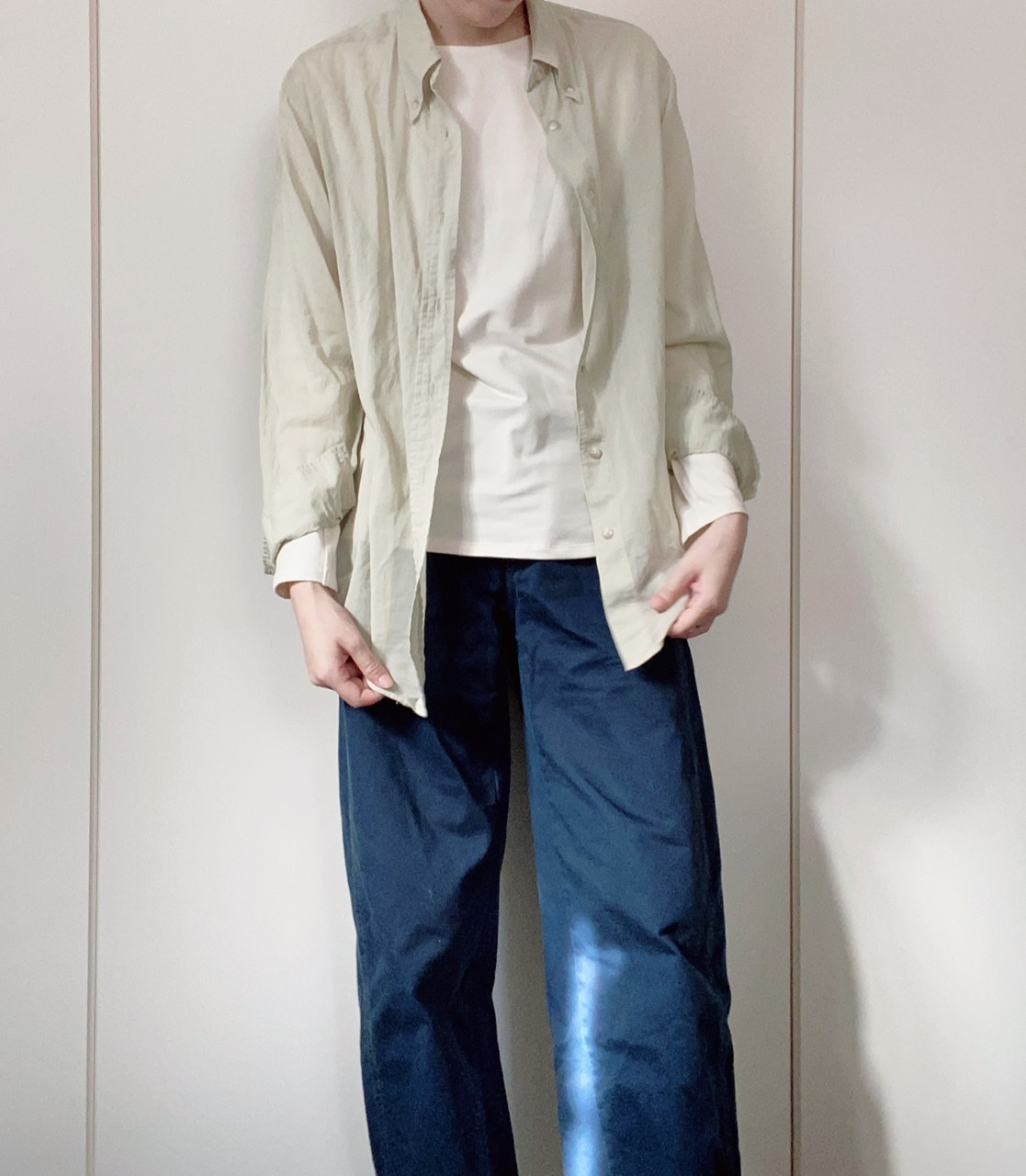 『ユニクロ ユー』ヒートテック発売記念! ライターみかりんがガチ私服で着回し♪ メンズアイテムはどう着こなす?_5