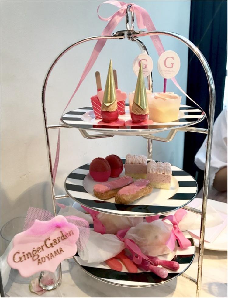 【FOOD】今1番可愛い#アフタヌーンティー はここ♡女子会にぴったり⋈ #GingergardenAOYAMA_6
