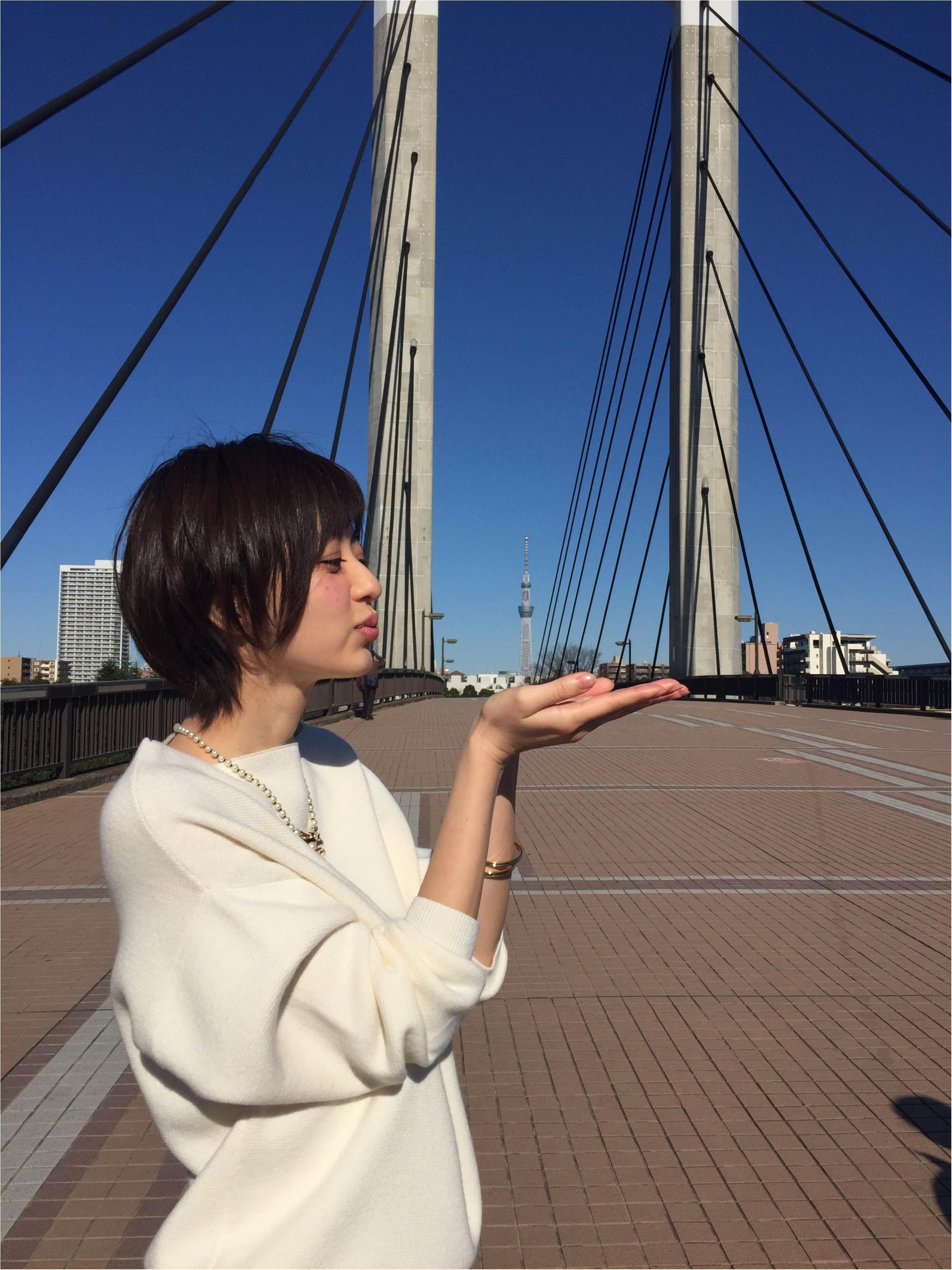 【オフショット】逢沢りなのスカイツリーポーズ♡_4