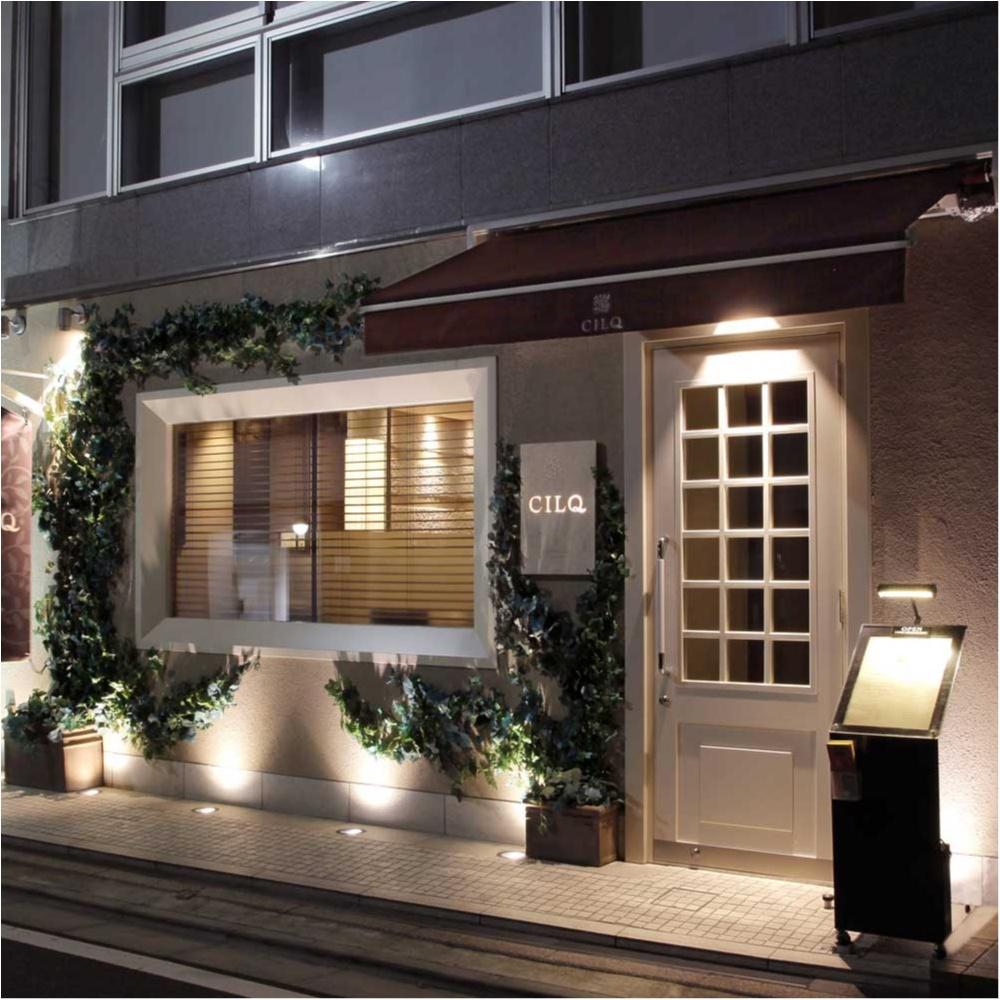 素敵なフレンチレストラン...CILQ(シルク)@表参道_1