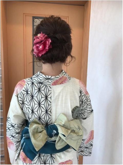 【美容室】着付け+ヘアセットが4,320円!!夏限定のプチ浴衣セットが大好評★_4