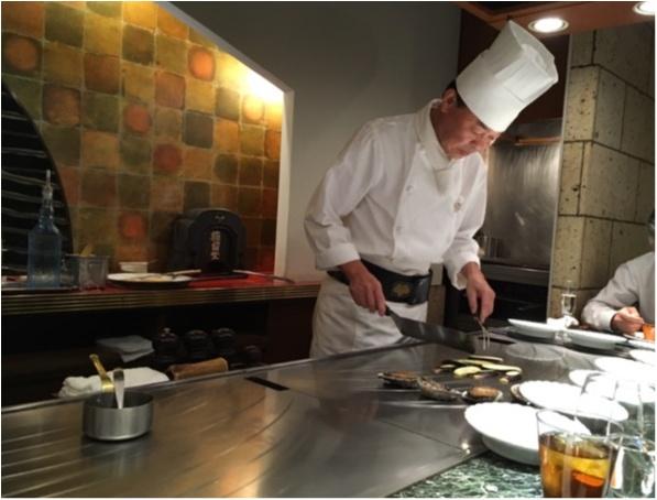 記念日にぜひ❤️シェフが目の前で焼いてくれる夢の鉄板焼フルコース!♡鮑にフォアグラに贅沢ディナー。_8