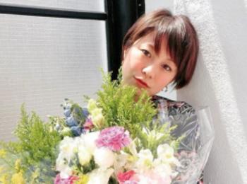 発売中の8月号では、先輩モアモデルである田中美保ちゃんが登場【撮影のオフショット】
