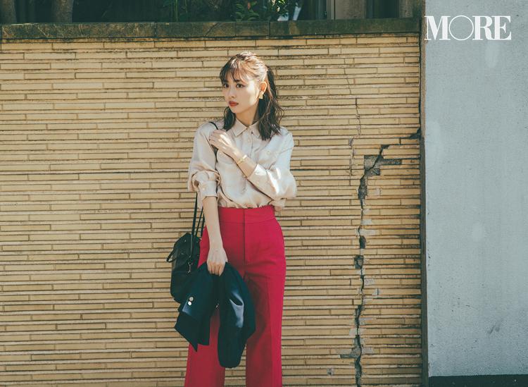 ベージュコーデ特集(20代後半女子向け)- 春におすすめのワンピースやスカート、靴などのコーディネートまとめ_13