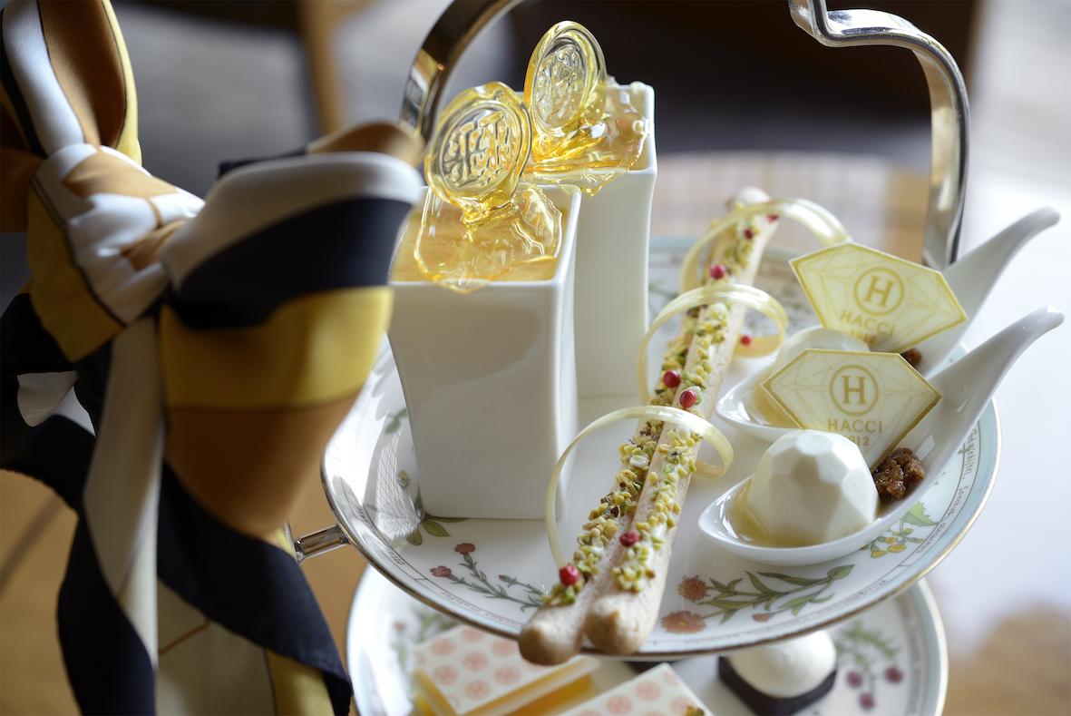 『ホテル椿山荘東京』×『HACCI』の華麗なるアフタヌーンティー!_2