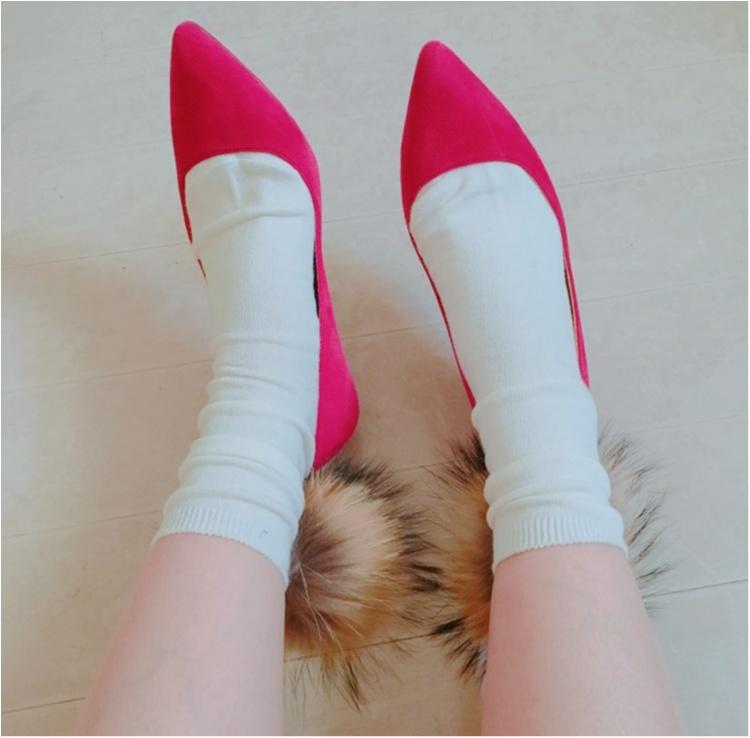 《足元から冬ファッションを楽しんで♡》話題のファーソックスが可愛くておしゃれ♡!_3