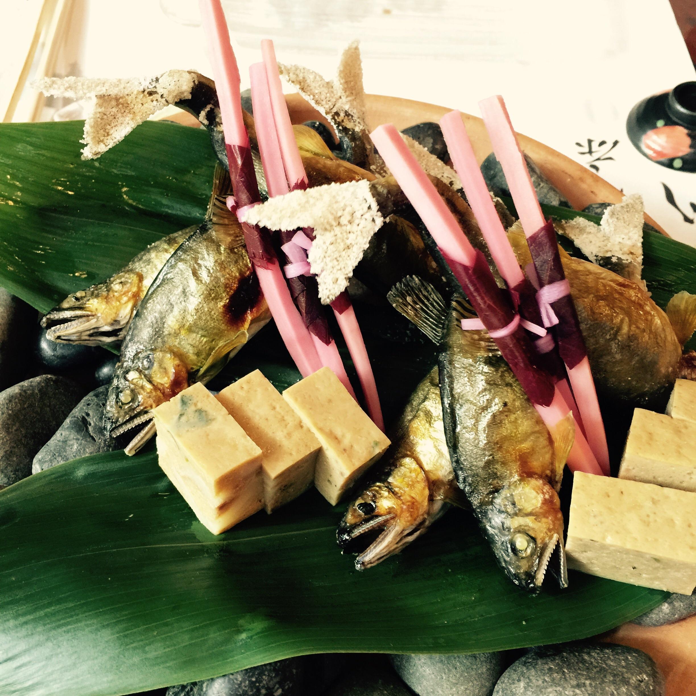 京都・貴船の滝つぼ……ではなく川床でお食事♪_3