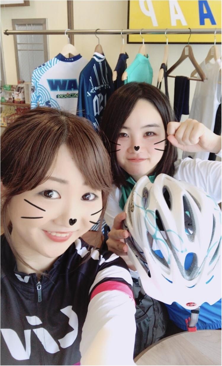 「ツール・ド・東北」の安全祈願のため…自転車専用のお守りが買える鳩森八幡神社へ!ロードバイクで初めての遠出♡【#モアチャレ さえ】_1