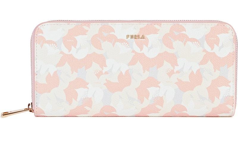 FRULA(フルラ)、ピンクの長財布