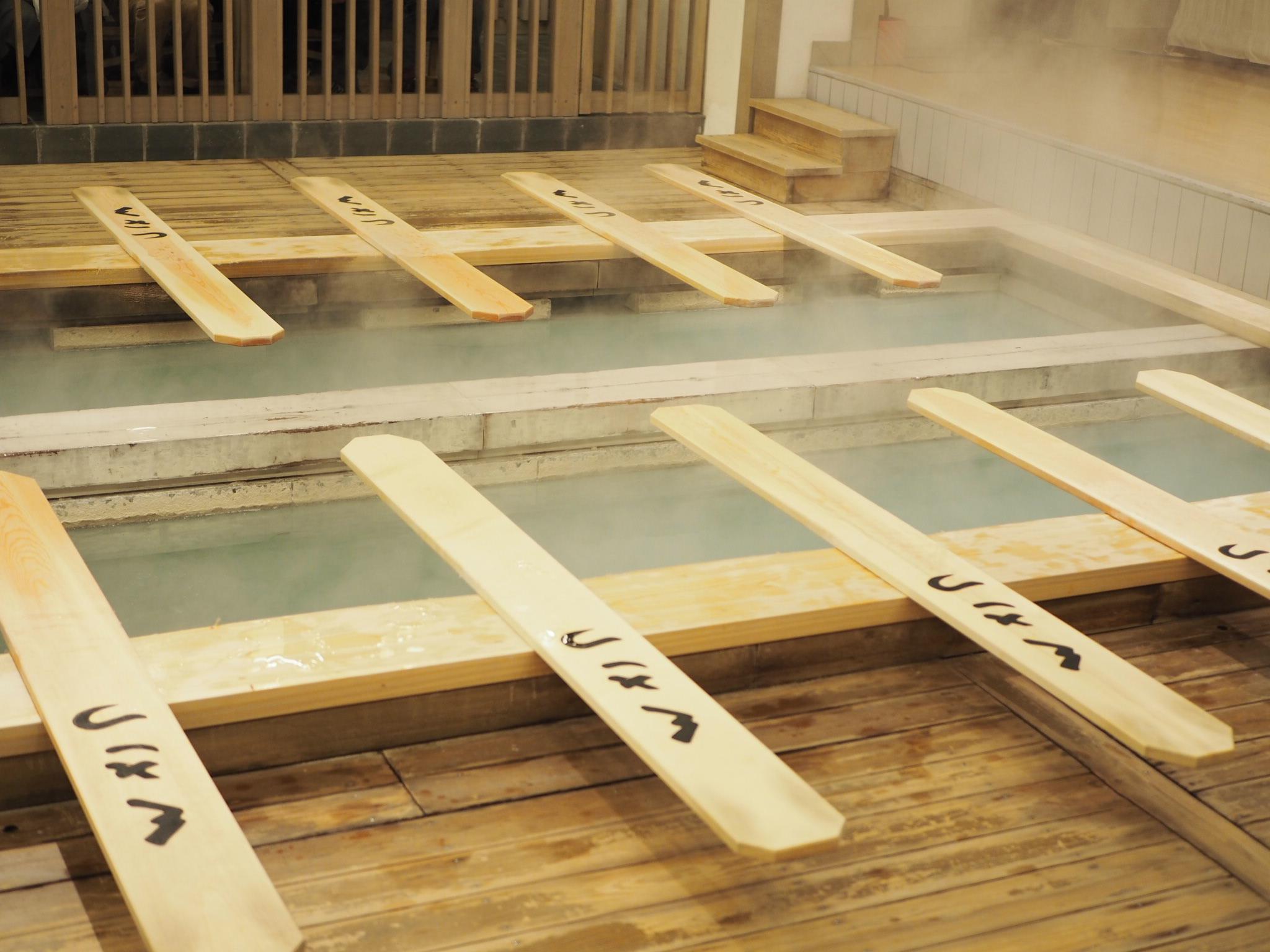 【草津温泉】湯もみショーと温泉が湧き出る西の河原公園♡_1