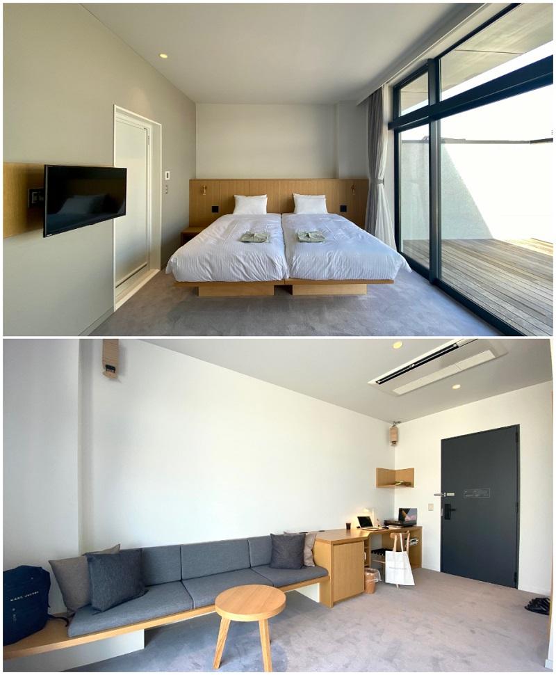 【東京おしゃれホテル】『MUSTARD HOTEL SHIMOKITAZAWA(マスタード™ ホテル シモキタザワ)』で一番グレードの高い「マスタードデラックス」