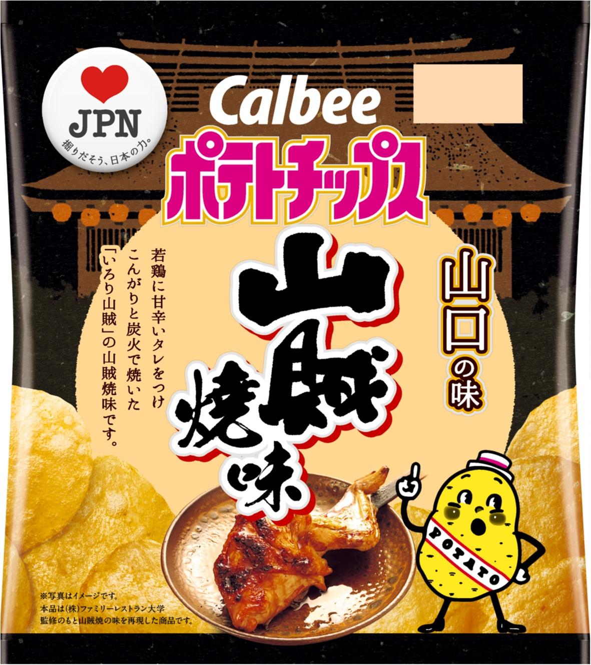 全国の味、全部食べたい♡ 「ポテトチップス」と巡る47都道府県の味。 _1_4