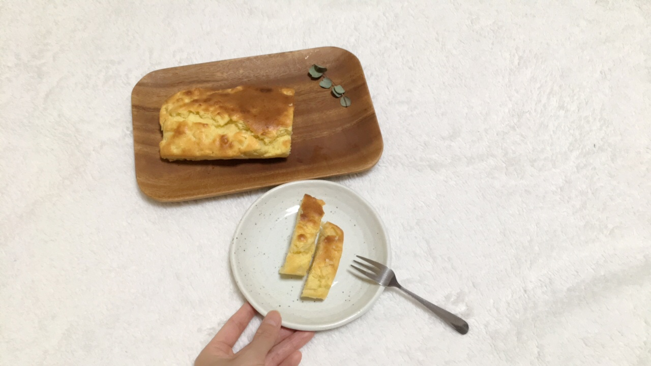 ホットケーキミックスで誰でも簡単!【りんごのパウンドケーキ】_7