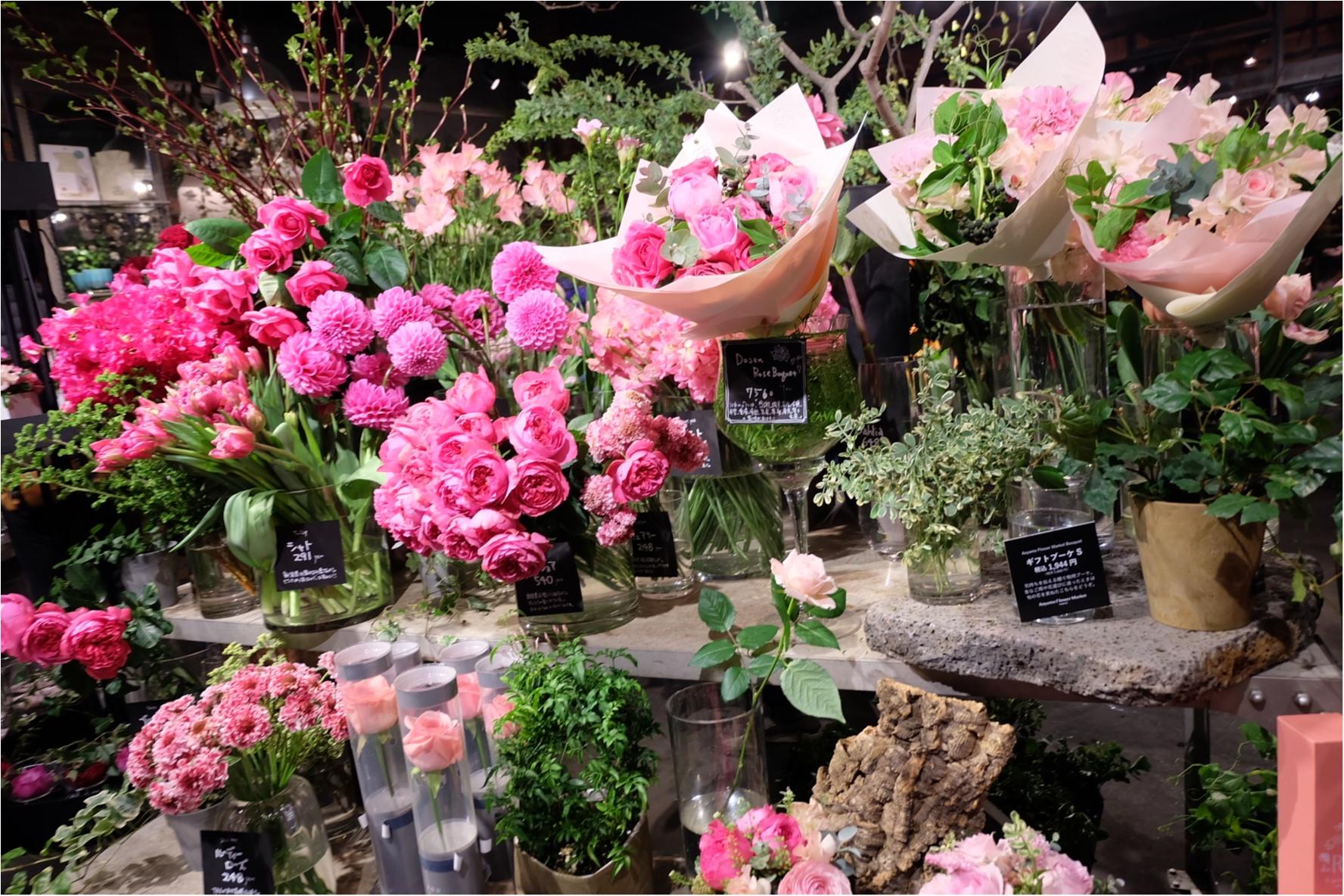 【ご当地MORE♡東京】AOYAMA FLOWER MARKET TEA HOUSEでお花に囲まれて女子会ができちゃう贅沢スポット♡_8