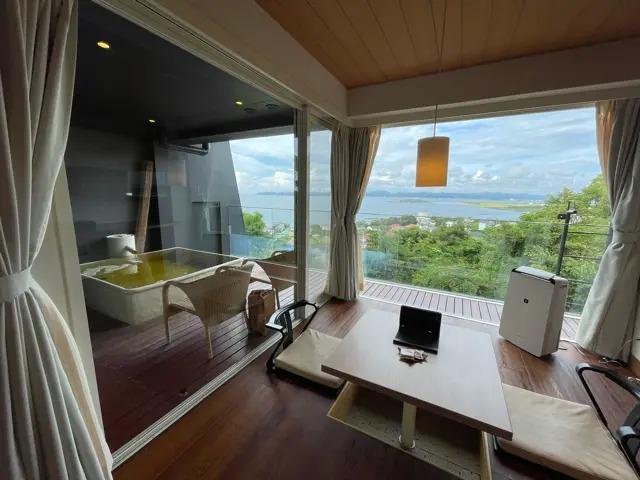 リゾートホテル『The Shinra-森羅』の部屋