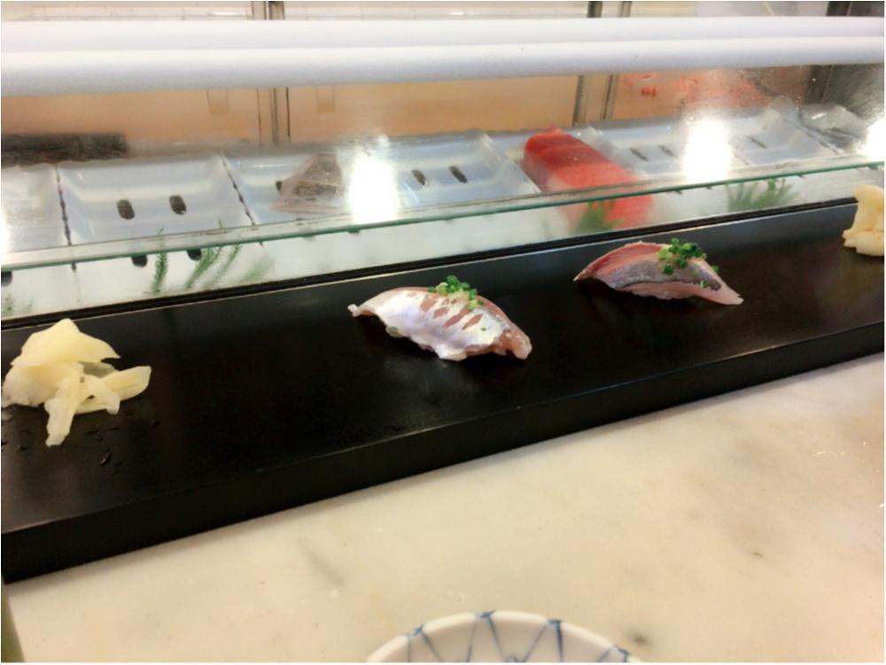 絶品お寿司を築地にて♡_4