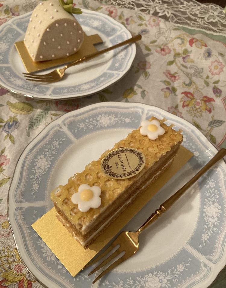 【ラデュレ】可愛すぎるケーキ_3