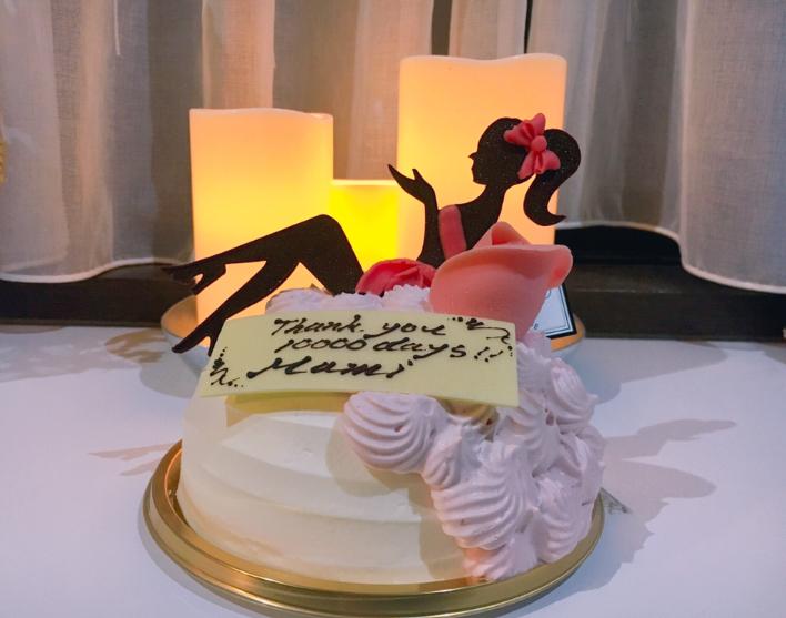 【祝】10000日バースデーをお祝いしました♡_1
