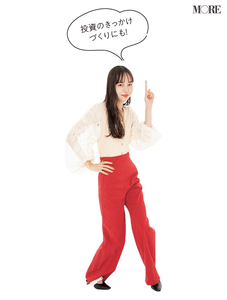 モデル・井桁弘恵がポーズをとっている様子