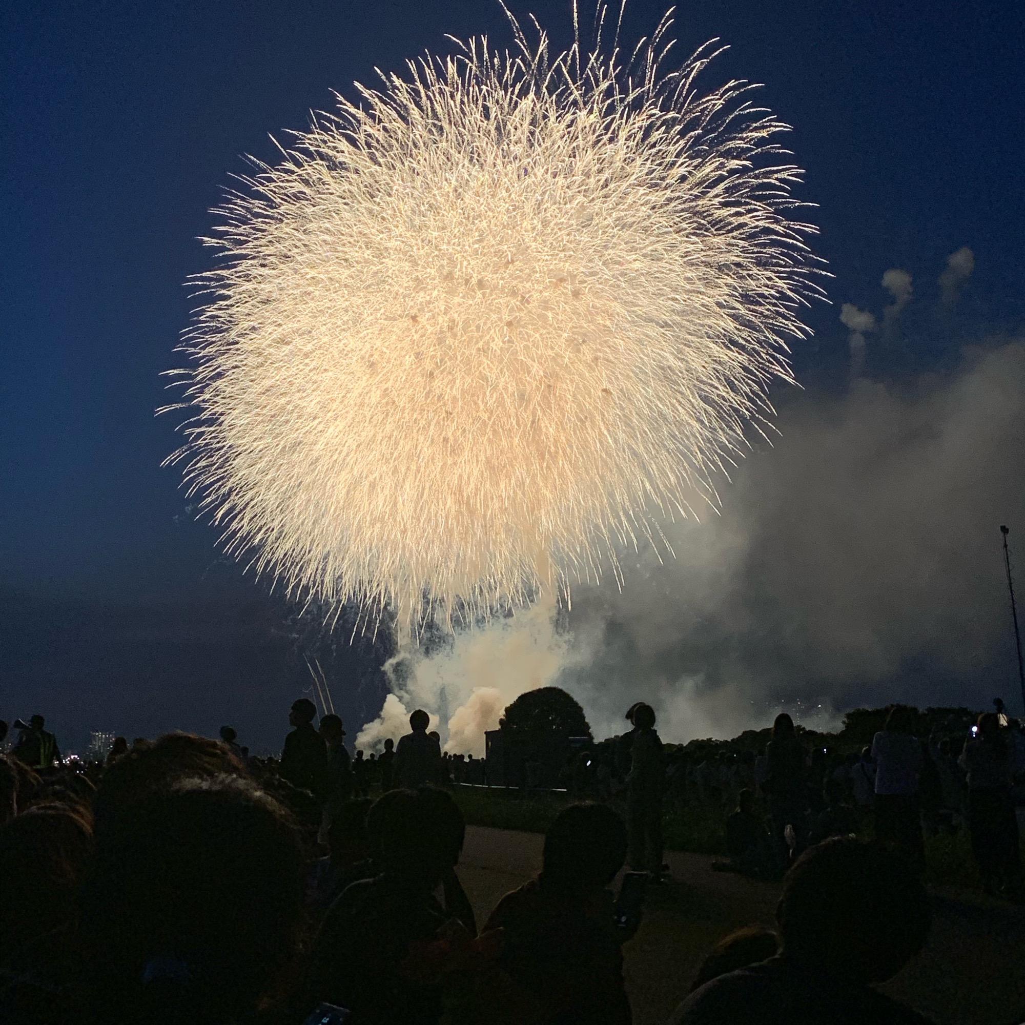 《お気に入りの浴衣で❤️》【江戸川花火大会】に行ってきました☻!_4