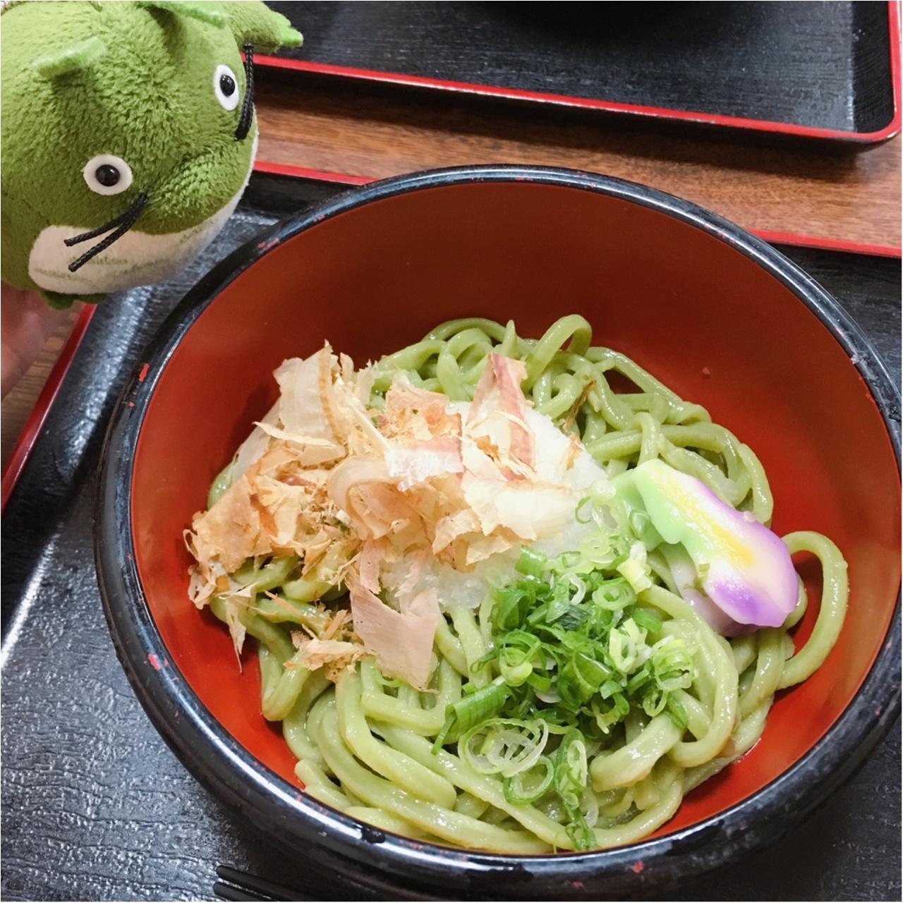 京都宇治に行ったら『茶うどん』を食べるべし!_1