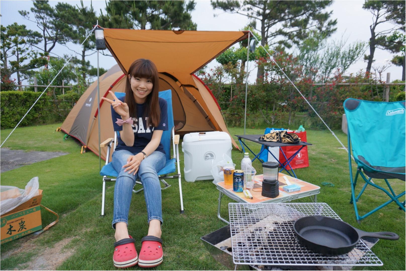 はじめてのキャンプ体験!_1