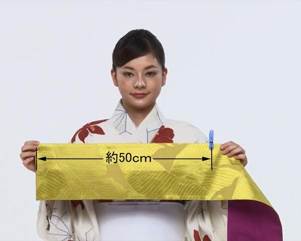 【わかりやすい動画付き】浴衣のセルフ着付け・帯の結び方 - 一人でできる! 女性の浴衣の着方は?_45