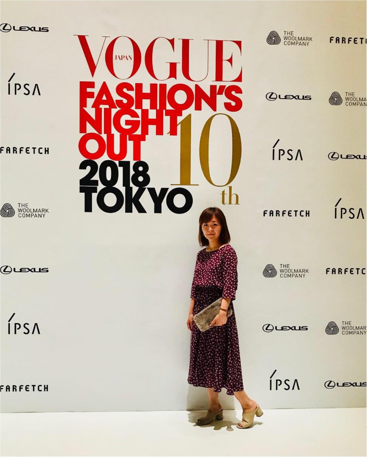 ファッショニスタ大集合❤︎【VOGUE JAPAN FASHION'S NIGHT OUT】に行ってきました♡_3