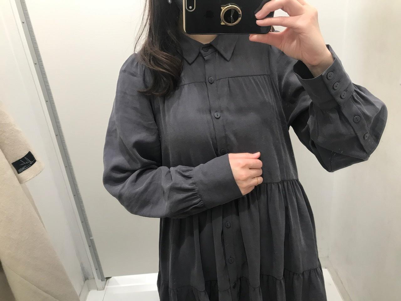【ZARA】今から春まで着回せる! おすすめのトレンド服《ティアードシャツ》★_3