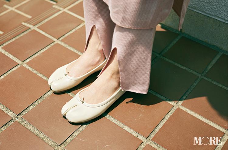 高橋愛さん(身長154cm)はぺたんこ靴でもきれいにおしゃれ♡ その秘密って?_7