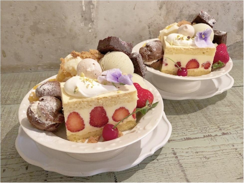 かわいすぎる♡ 人気カフェkipfel・さんの『3周年のアニバーサリーパフェ』でお祝いしてきました♡♡_2