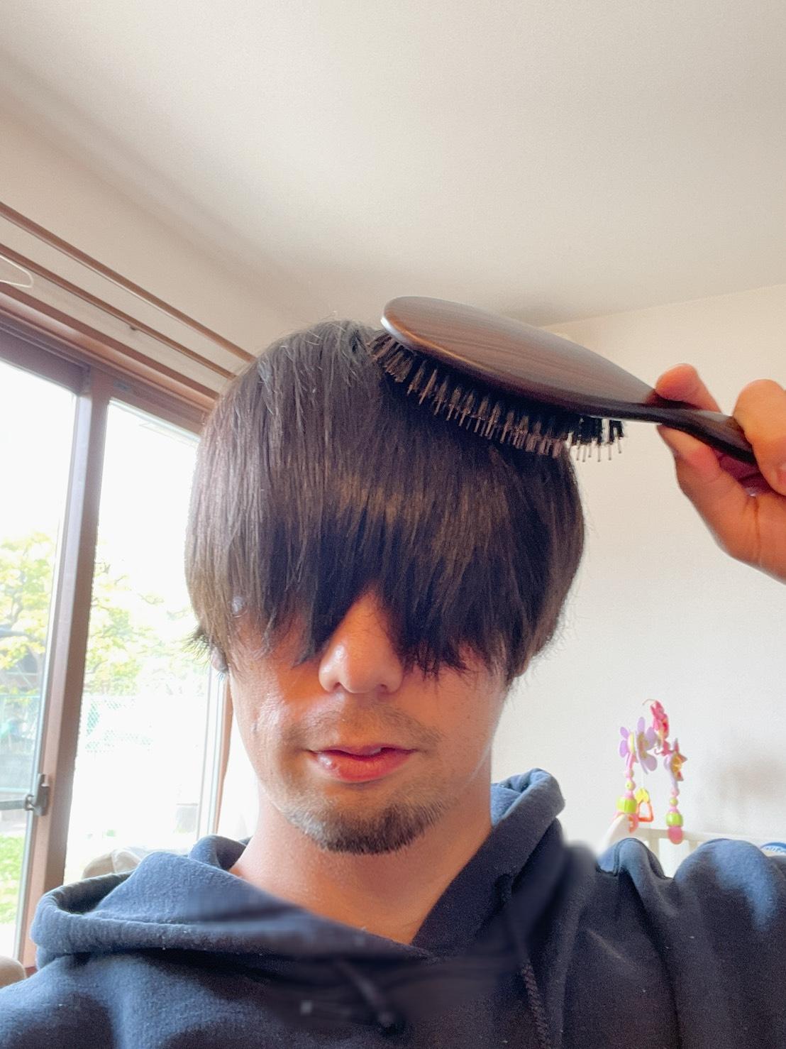 【えっ!?こんなにツヤツヤに?】La CASTAのヘアブラシで頭皮も毛先も元気に!!効果に驚き!_9
