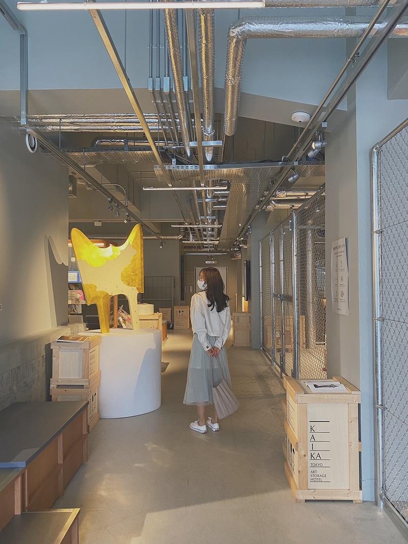 【東京のおしゃれなホテル】韓国っぽホテルおすすめ。蔵前『KAIKA 東京 by THE SHARE HOTELS』内観