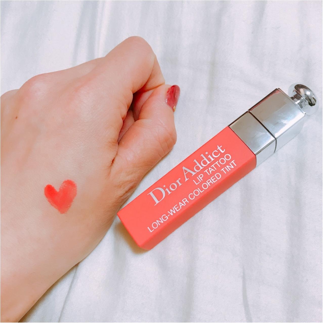 """《キスしても落ちない♡》Dior(ディオール)の""""アディクトリップティント""""がポーチのスタメン入り!_2"""