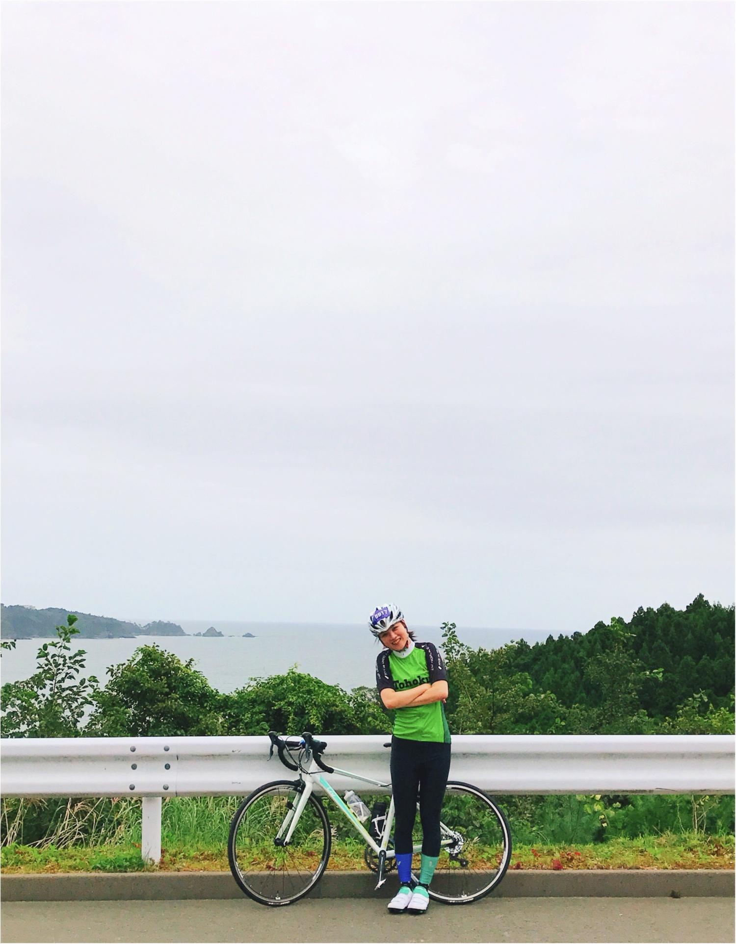 雄勝湾の絶景と大きすぎるホタテに感動♡「ツール・ド・東北」女川・雄勝フォンドの65kmをレポート!【#モアチャレ さえ】_4