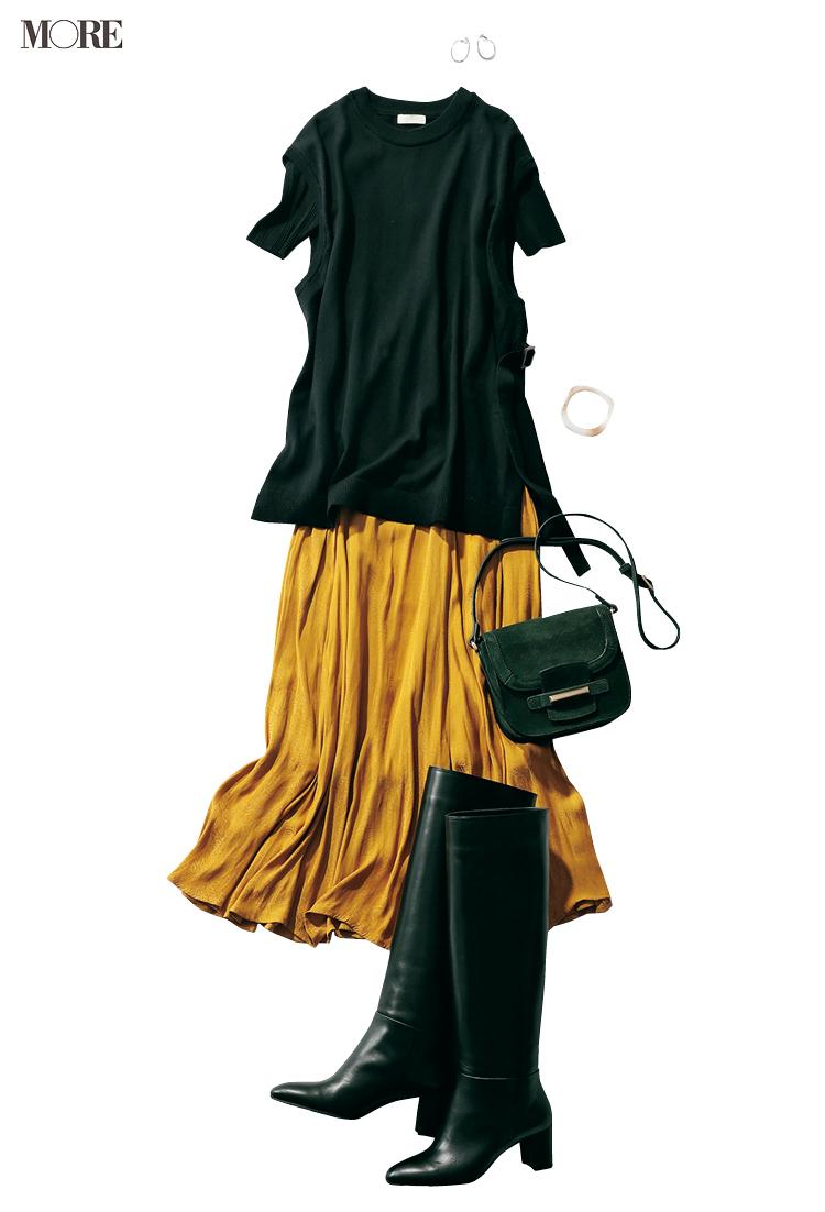 お母さんと本音で話せた(涙)。パンツ派巴瑞季・スカート派りな「秋ボトムに何合わせてく?」着回し23日目_3