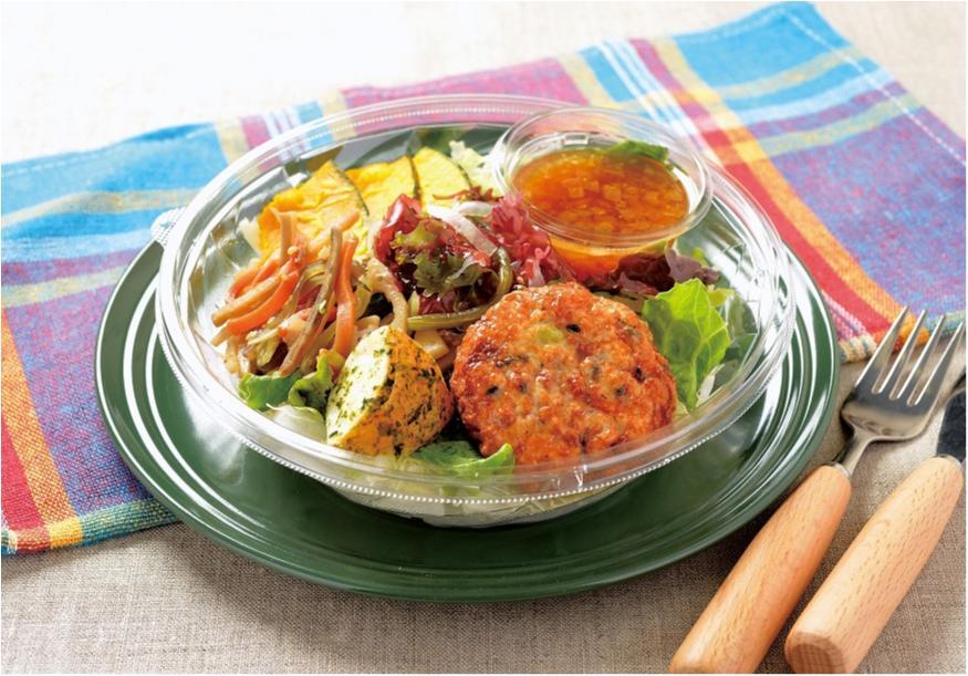 『ローソン』のパスタ&サラダは、糖質オフなのに、うれしいボリューム♡ _2