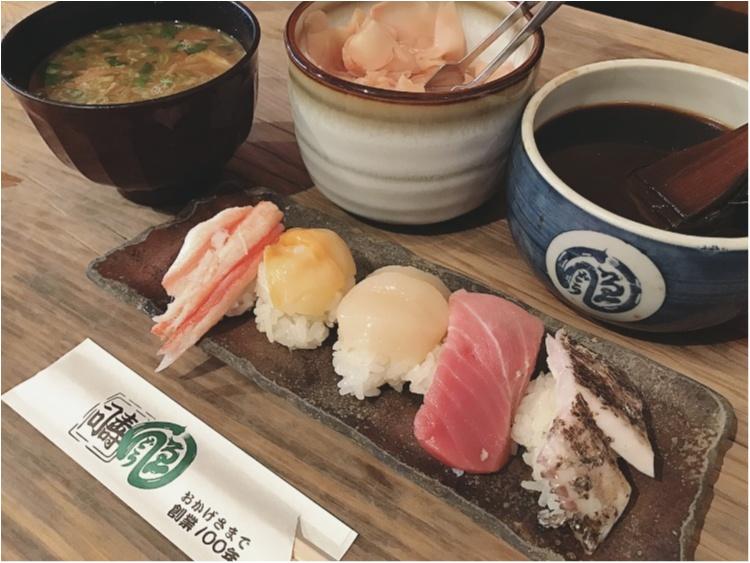 中央卸売市場の行列ができるお寿司屋さんで、朝カフェならぬ《朝寿司》してきました!_4