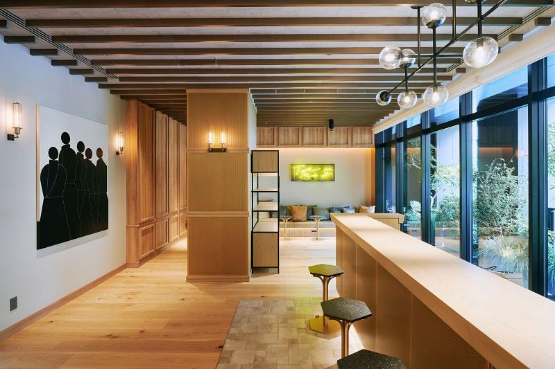 【東京のおしゃれなホテル】『NOHGA HOTEL AKIHABARA』レセプション