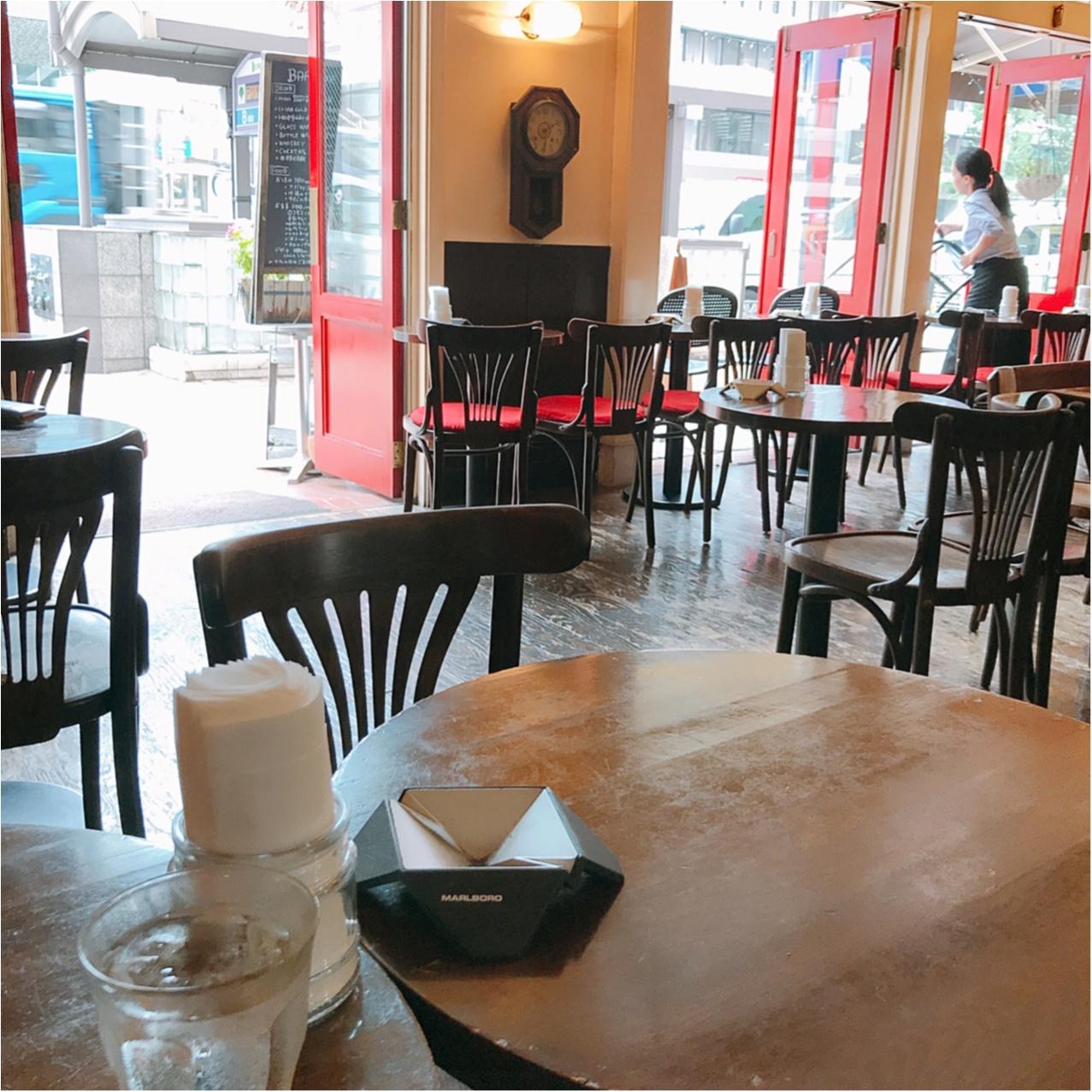 銀座のおしゃカフェでラーメン!?【Pour cafe】のトマトラーメンが絶品♡_2