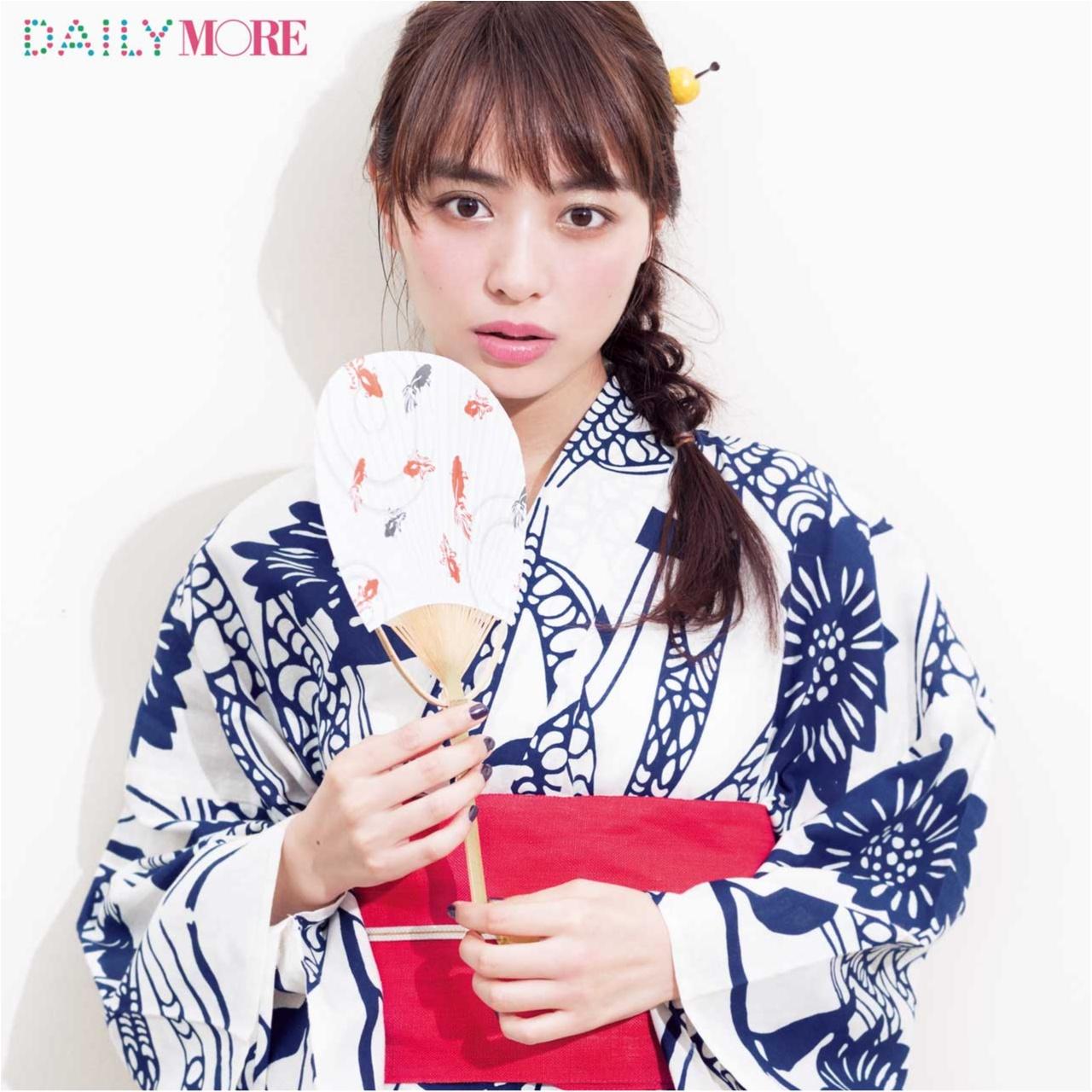 内田理央出演! 大人気ヘア&メイク、イガリシノブさんの「彼と浴衣でお祭りに行く日」のメイク♡_1