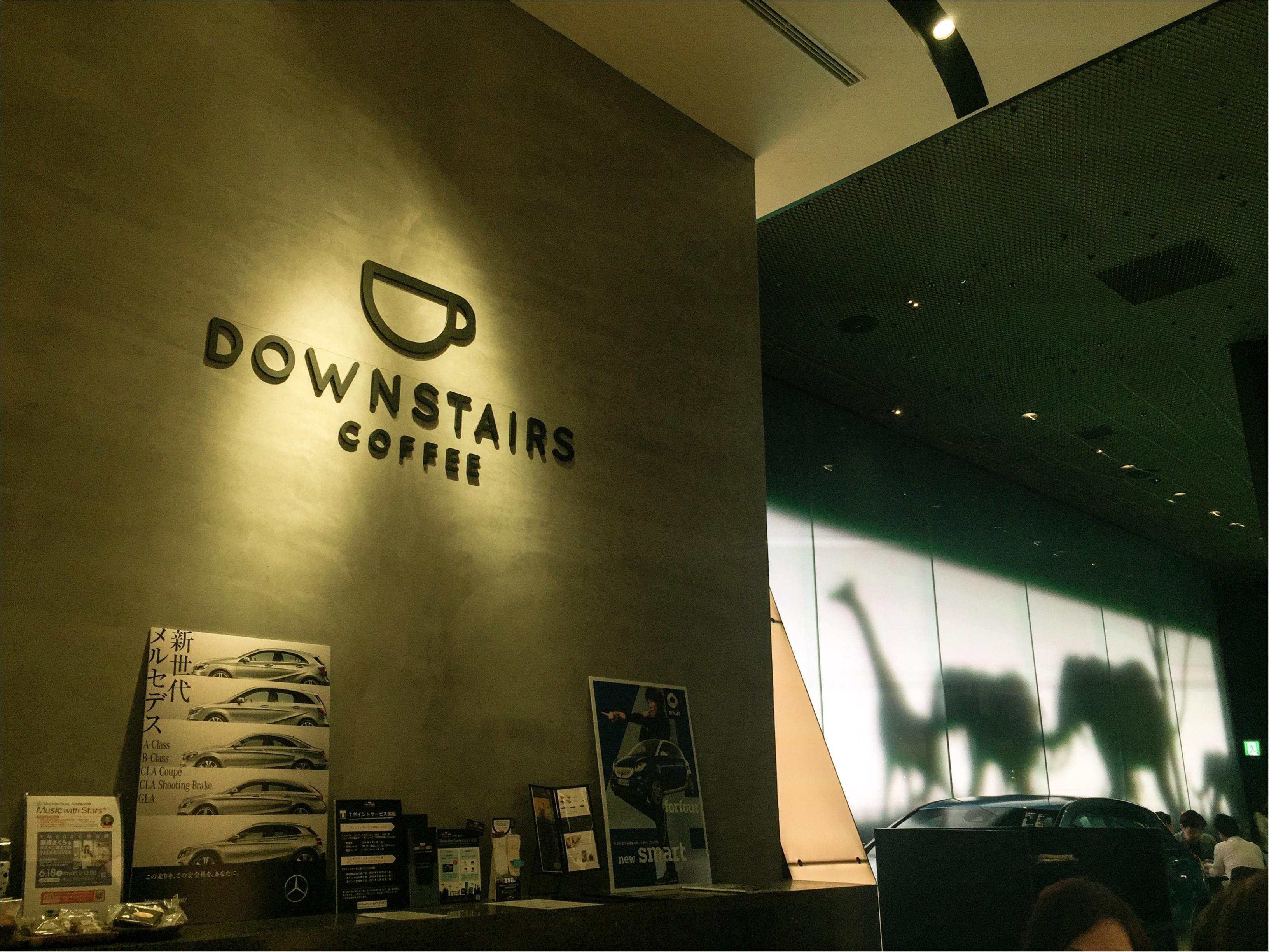 【隠れた人気カフェ】グランフロント大阪 DOWN STAIRS COFFEE【ラテアート✨】_1